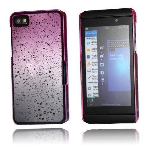 Raindrops Kuuma Pinkki Blackberry Z10 Suojakuori