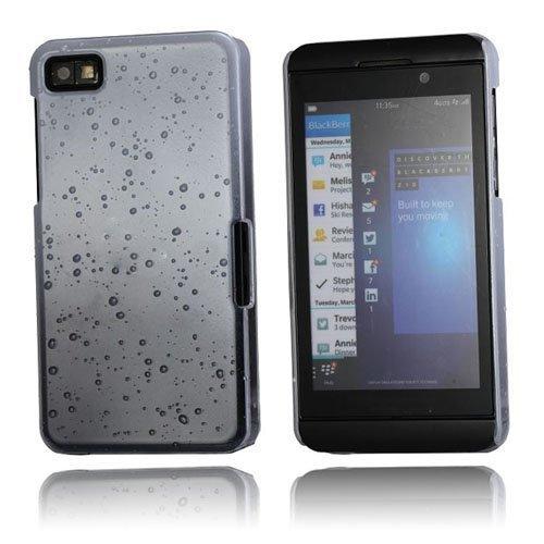 Raindrops Valkoinen Blackberry Z10 Suojakuori