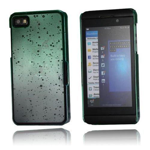 Raindrops Vihreä Blackberry Z10 Suojakuori