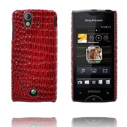 Raptor Punainen Sony Ericsson Xperia Ray Suojakuori