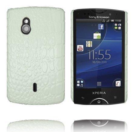 Raptor Valkoinen Sony Ericsson Xperia Mini Pro Suojakuori