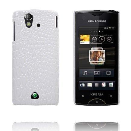 Raptor Valkoinen Sony Ericsson Xperia Ray Suojakuori