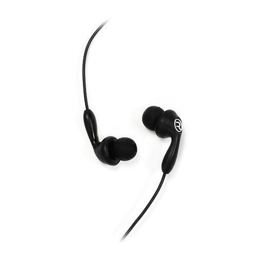 Remax 505 Karkki Johto Korvanappikuulokkeet Mikrofonilla Matkapuhelimille Musta