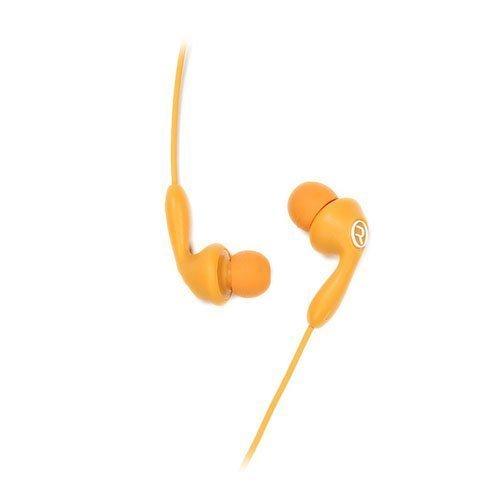 Remax 505 Karkki Johto Korvanappikuulokkeet Mikrofonilla Matkapuhelimille Oranssi