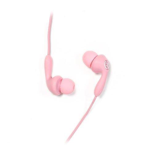 Remax 505 Karkki Johto Korvanappikuulokkeet Mikrofonilla Matkapuhelimille Pinkki