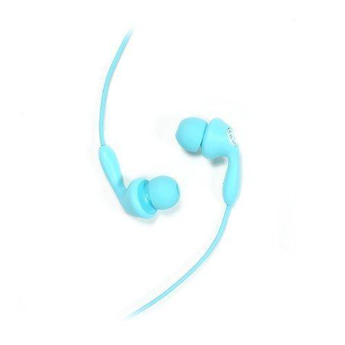 Remax 505 Karkki Johto Korvanappikuulokkeet Mikrofonilla Matkapuhelimille Sininen
