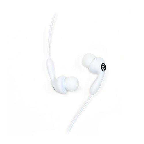 Remax 505 Karkki Johto Korvanappikuulokkeet Mikrofonilla Matkapuhelimille Valkoinen