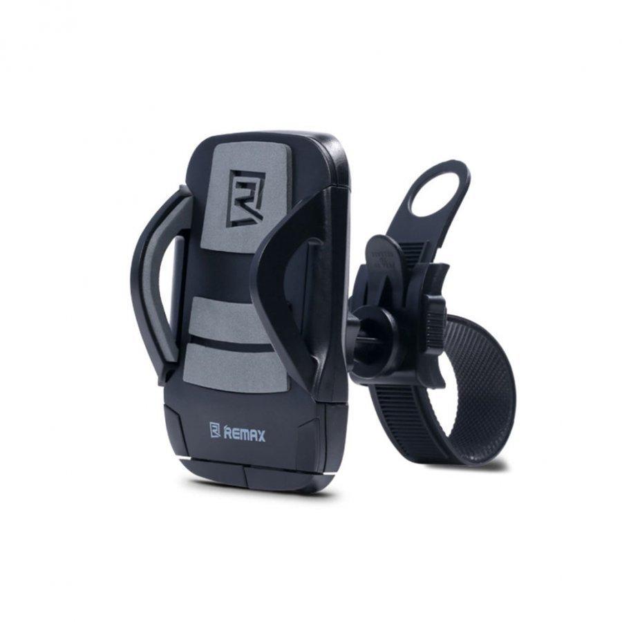 Remax Pyörän Ohjaustanko Teline Älypuhelimille Harmaa