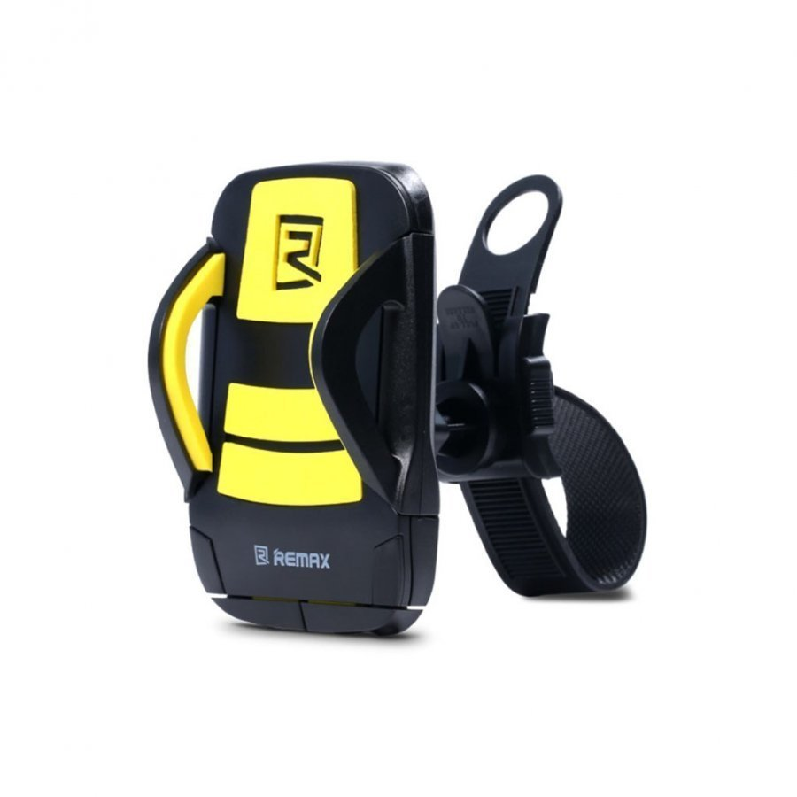 Remax Pyörän Ohjaustanko Teline Älypuhelimille Keltainen