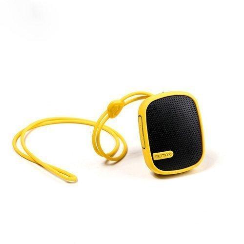 Remax Rm-X2 Keltainen Vedenkestävä Bluetooth Kaiutin