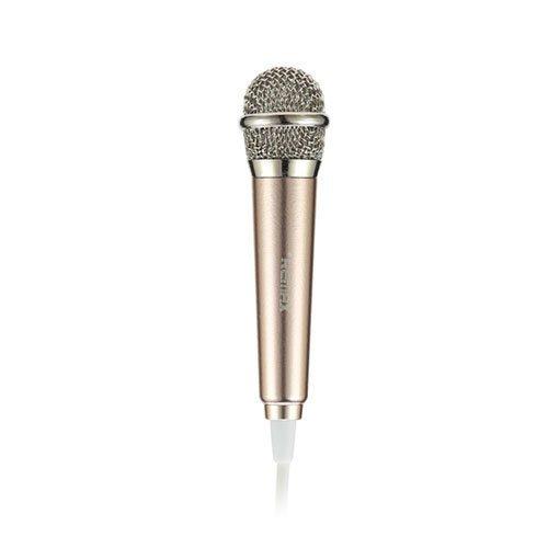 Remax Rmk-K01 Universaali Kädessä Pidettävä Karaoke Mikrofoni Kulta
