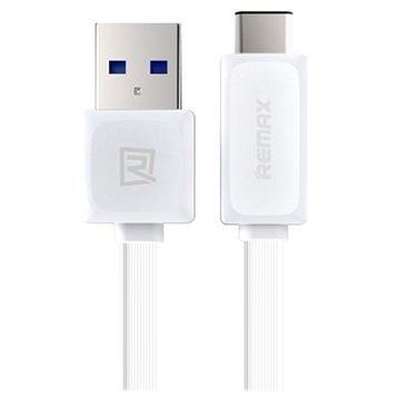 Remax USB 3.0 / USB 3.1 Type-C Kaapeli Valkoinen