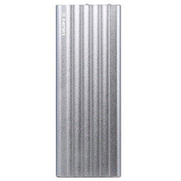 Remax Vanguard Dual USB Ulkoinen Akku / Virtapankki Hopea