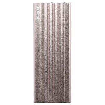 Remax Vanguard Dual USB Ulkoinen Akku / Virtapankki Kultainen