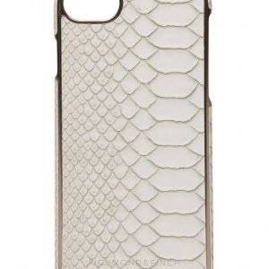 Richmond & Finch Framed Rosé White Reptile Iphone 7