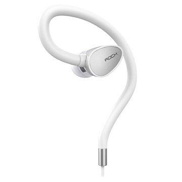 Rock Zircon Sport In-Ear Stereokuuloke Valkoinen