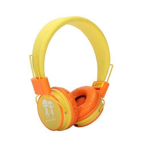 Romix Ep15 Avaruusolento Stereo Kulokkeet Keltainen