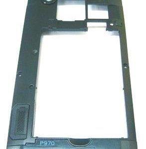 Runko LG P970 Optimus musta musta