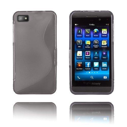 S-Line Harmaa Blackberry Z10 Suojakuori