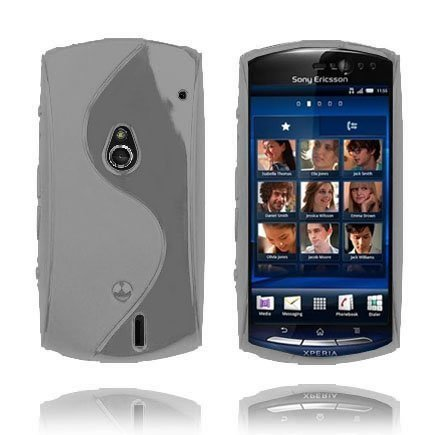 S-Line Harmaa Sony Ericsson Xperia Neo Suojakuori