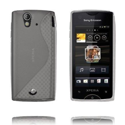 S-Line Harmaa Sony Ericsson Xperia Ray Suojakuori