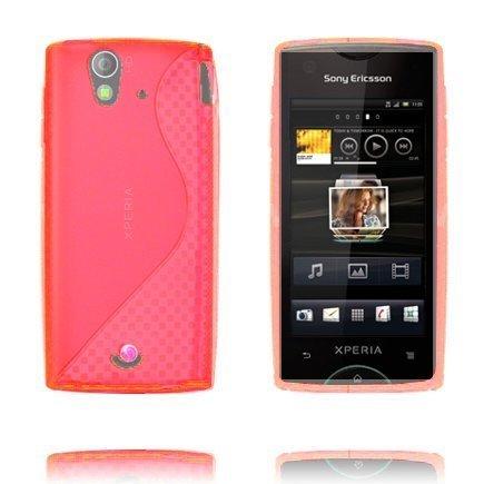 S-Line Pinkki Sony Ericsson Xperia Ray Suojakuori