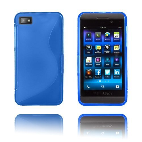 S-Line Sininen Blackberry Z10 Suojakuori