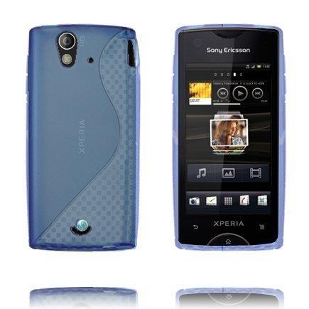 S-Line Sininen Sony Ericsson Xperia Ray Suojakuori