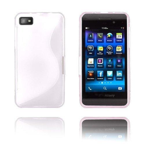S-Line Valkoinen Blackberry Z10 Suojakuori