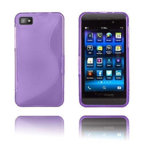 S-Line Violetti Blackberry Z10 Suojakuori