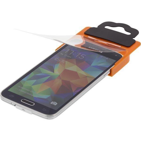 STREETZ Läpinäkyvä suojakalvo sekä asennustyökalu Samsung Galaxy