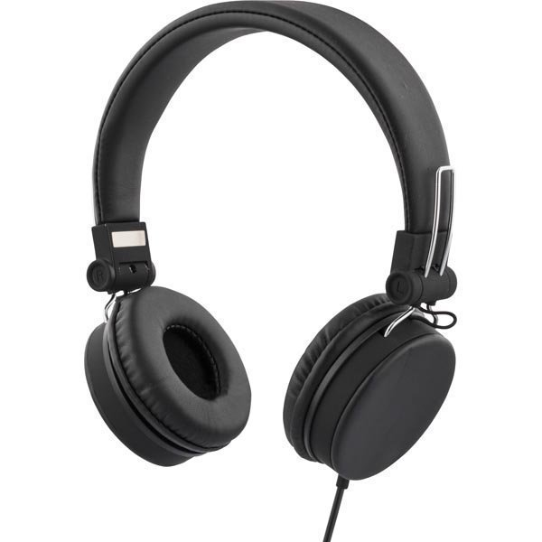 STREETZ headset iPhonelle mikrofoni noisecancelling 1 5m musta