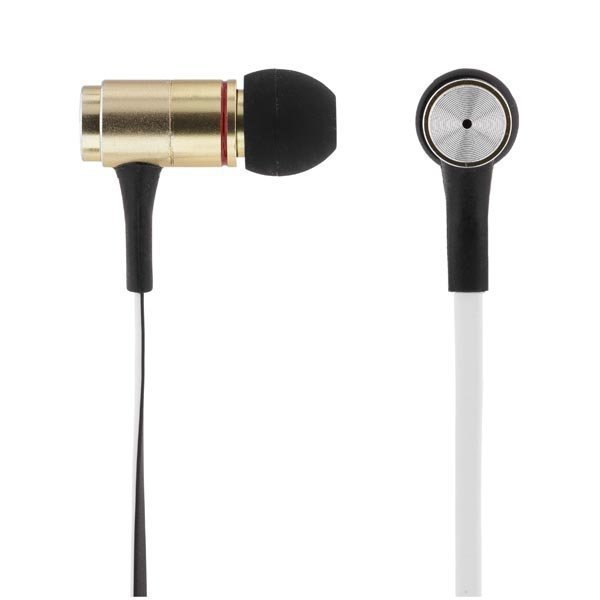 STREETZ in-ear kuulokkeet mikrofoni vastausnappi 1 2m kaap kel/mus