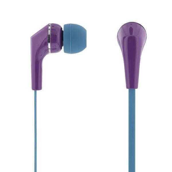 STREETZ in-ear kuulokkeet mikrofoni vastausnappi 1 2m kaap lilasi