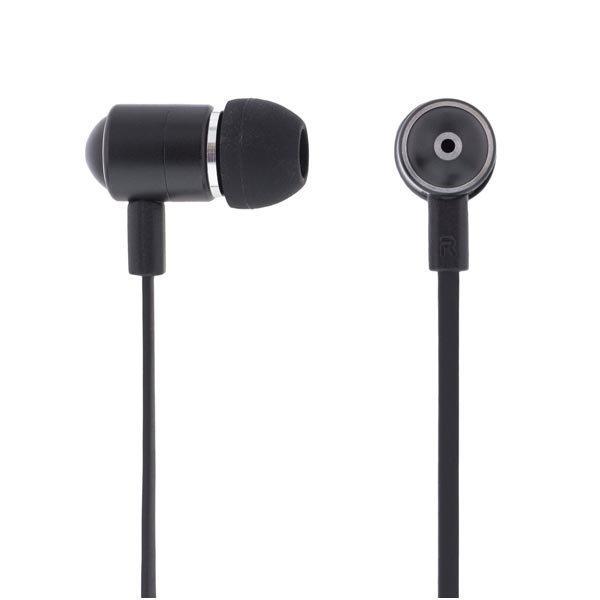 STREETZ in-ear kuulokkeet mikrofoni vast.nappi 1 2m musta
