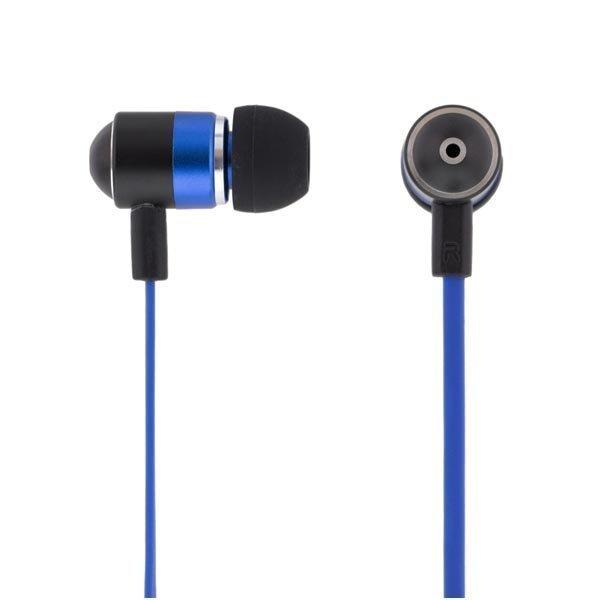 STREETZ in-ear kuulokkeet mikrofoni vast.nappi 1 2m sininen