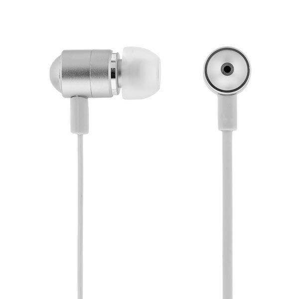 STREETZ in-ear kuulokkeet mikrofoni vast.nappi 1 2m valkoinen