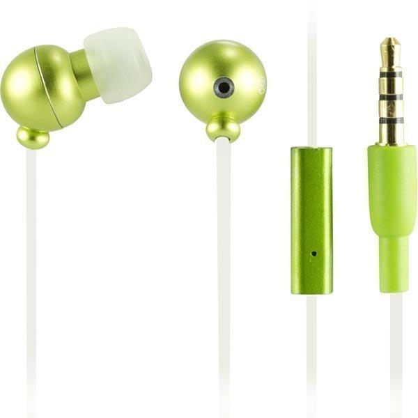 STREETZ in-ear nappikuulokkeet vihreä