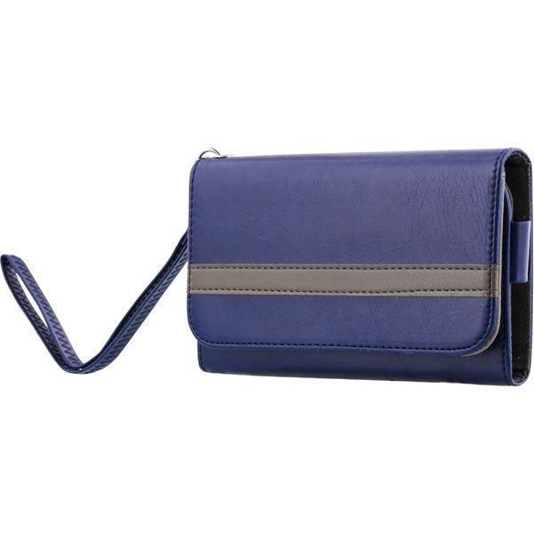 """STREETZ lompakkokuori 4-5 1:n-älypuhelimiin sininen"""""""