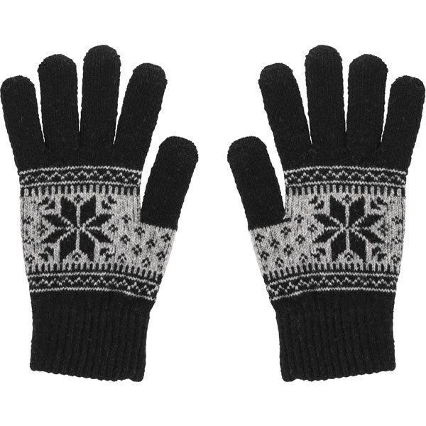 STREETZ sormikkaat kosketusnäytöille medium. musta