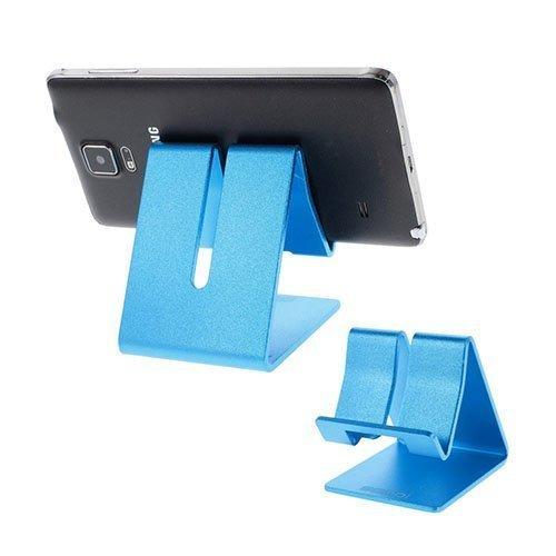 Samdi Metallinen Standi Älypuhelimille Ja Tableteille 7.6 Cm X 6.4 Cm X 7.7 Cm Sininen