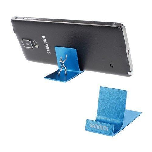 Samdi Strong Man Metallinen Pöytäteline Älypuhelimille Ja Tableteille Sininen