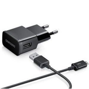 Samsung 230V Flat 2A travelcharger Black