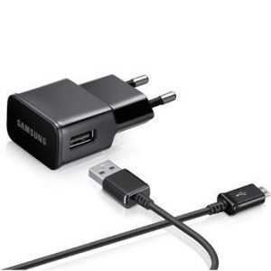 Samsung 230V Flat 2A travelcharger Black
