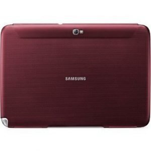 Samsung Book Cover Case for Galaxy Note 10.1'' Garnet Red