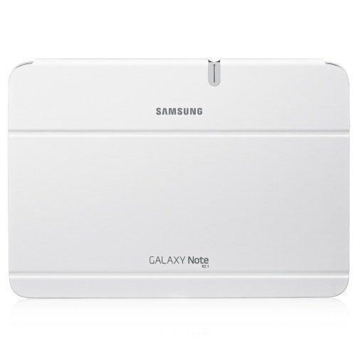 Samsung Book Cover Case for Galaxy Note 10.1'' White