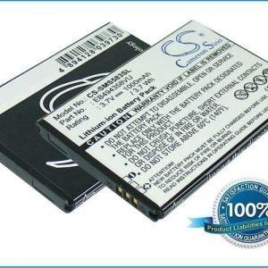 Samsung Cooper Fit Galaxy Ace Galaxy Gio Galaxy Pro Galaxy S Mini GT-B7510 GT-S5660 GT-S5830 GT-S5830T S5670 SCH-i579 yhteensopiva akku 1000 mAh