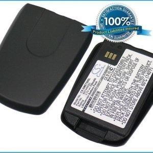Samsung E750 E758 / musta akku 750 mAh