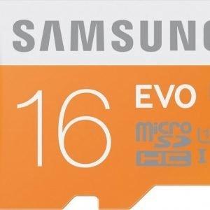 Samsung EVO microSDHC 16GB UHS-I (Class 10)