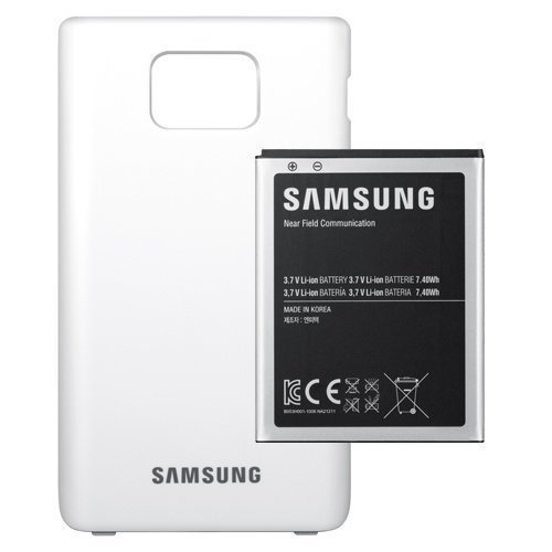 Samsung Extended Batterykit Galaxy S II White